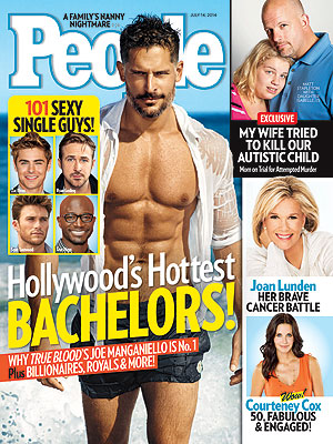 Joe Manganiello Talks True Love, Turn-Ons in PEOPLE Magazine