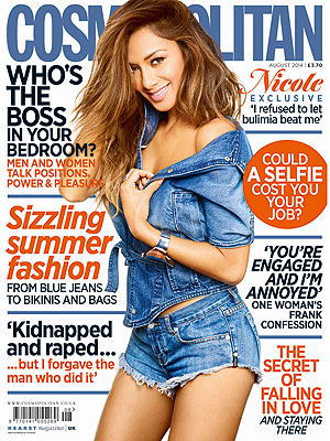 Nicole Scherzinger Discusses Bulimia, Shyness with British Cosmopolitan