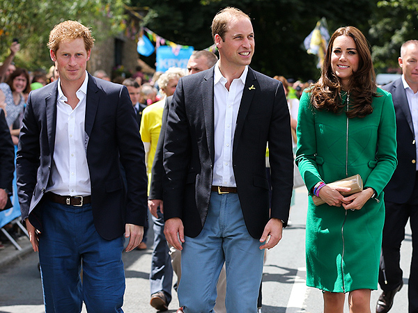 Prince William, Kate & Prince Harry's Tour de France Kick-Off: Photo