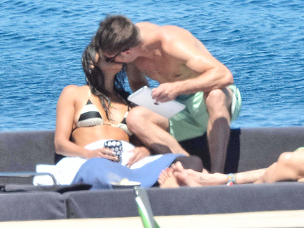 Zac Efron Kisses Michelle Rodriguez in Italy