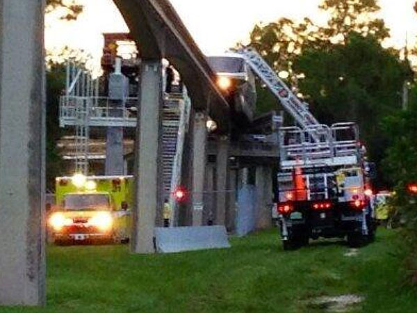 Disney World Monorail Shuts Down, Dozens of Passengers Evacuated