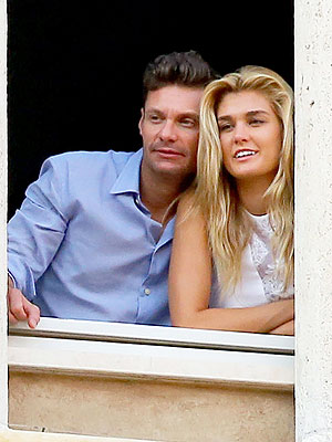 Ryan Seacrest Dating Shayna Taylor