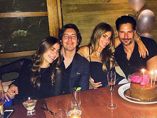 Sofia Vergara Celebrates Her Birthday with Joe Manganiello