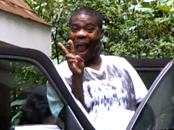 Tracy Morgan Smiles, Says He Feels Strong After Highway Crash