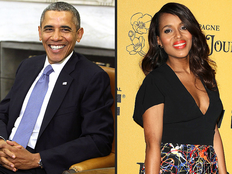 Kerry Washington's Daughter Gets Presidential Approval from Obama