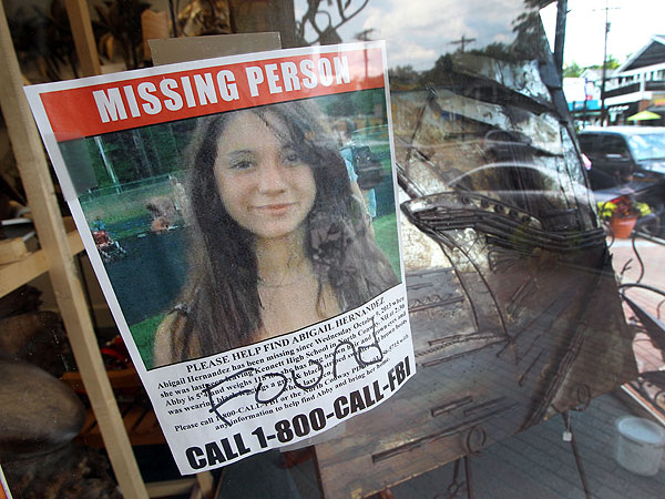 Abigail Hernandez, Missing for