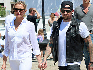 Cameron Diaz and Benji Madden Enjoy a Casual Family Brunch with Nicole Richie | Benji Madden