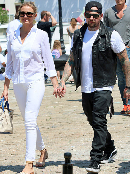 Cameron Diaz's Boyfriend Benji Madden: 'I'm Really Happy Right Now'
