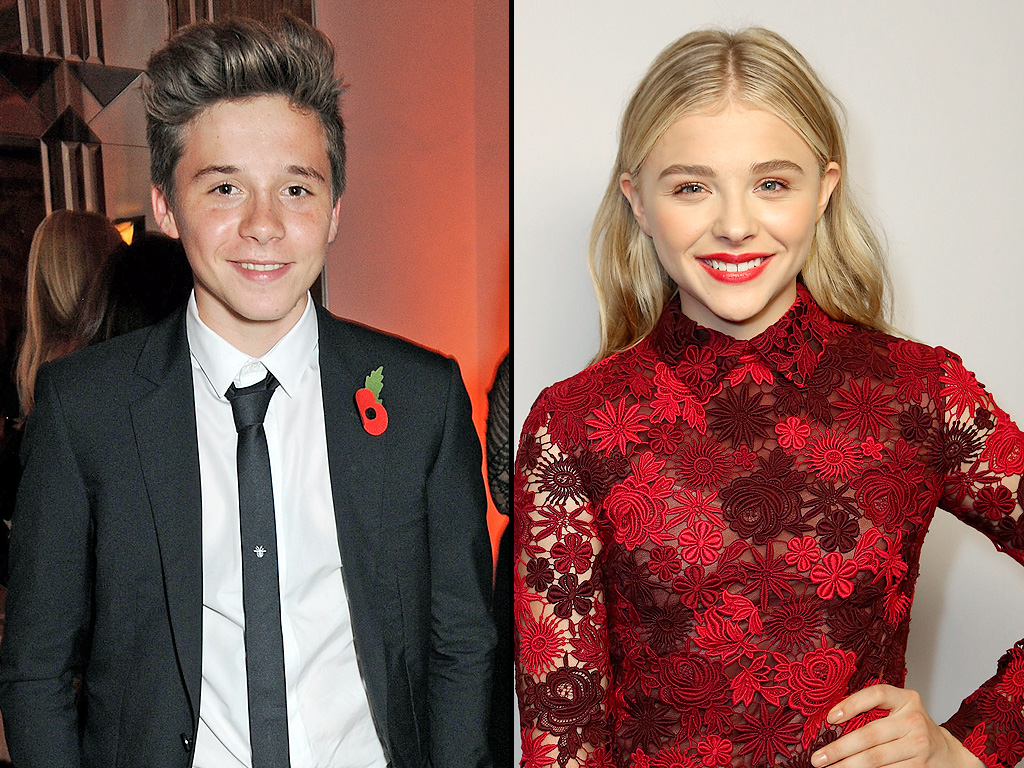 Chloë Grace Moretz and Brooklyn Beckham Have Spin Class Dates