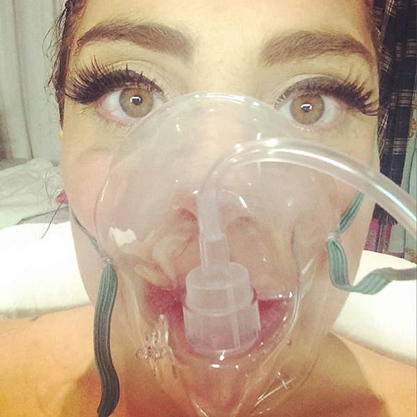 Lady Gaga Hospitalized for Altitude Sickness