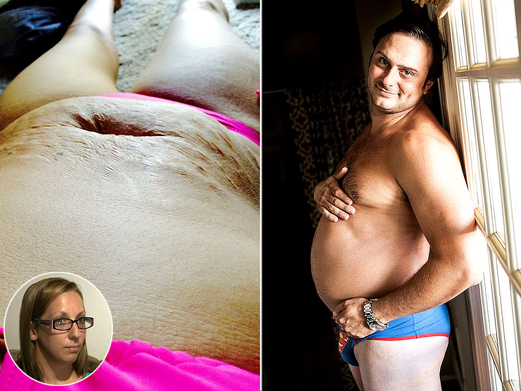 Mom Responds to Fat-Shaming, Dad Posts 'Pregnant' Pics: Top Stories of the Week