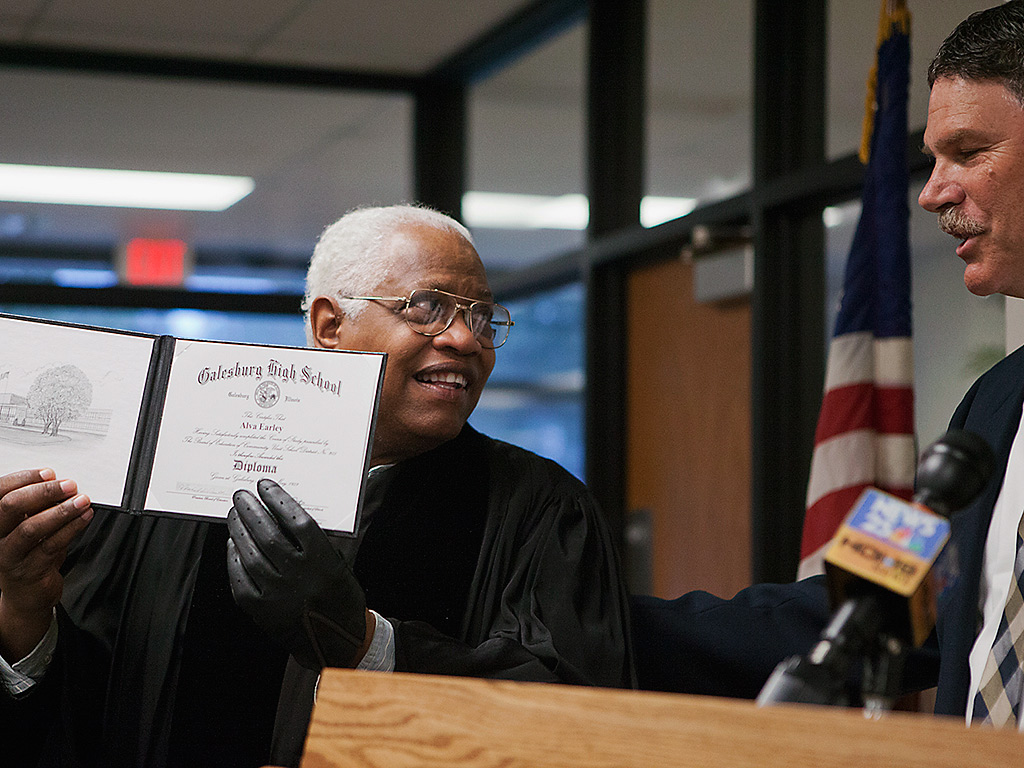 Civil Rights Activist Gets Diploma 55 Years After He Was Banned from Graduation