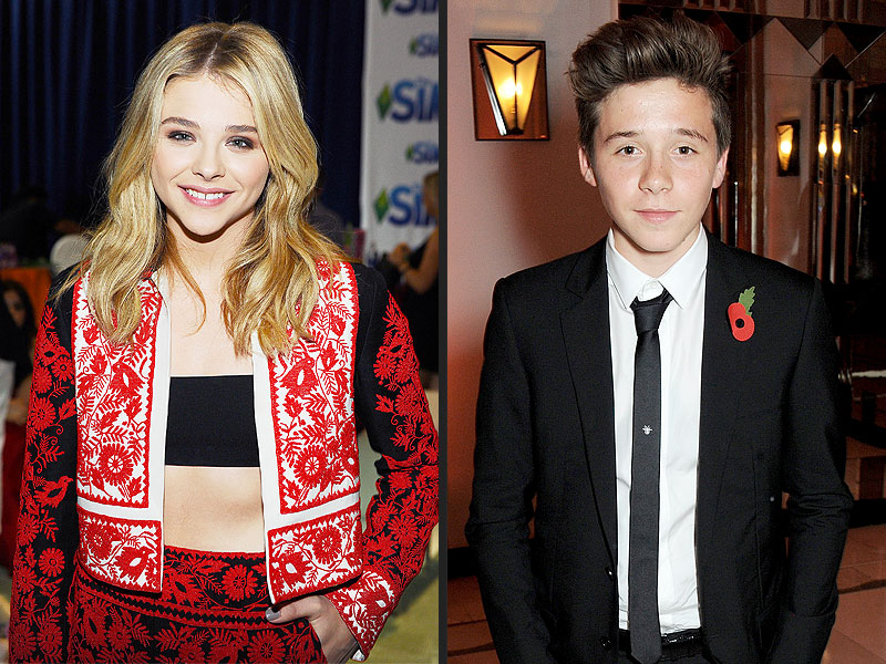 Chloë Grace Moretz and Brooklyn Beckham Spotted Together at Teen Choice Awards
