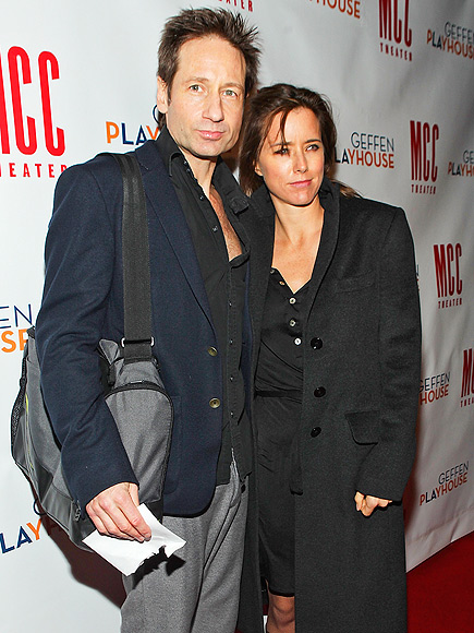 David Duchovny and Téa Leoni Are Divorcing
