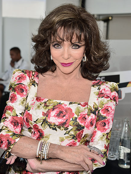 Joan Collins to Appear on E!'s The Royals