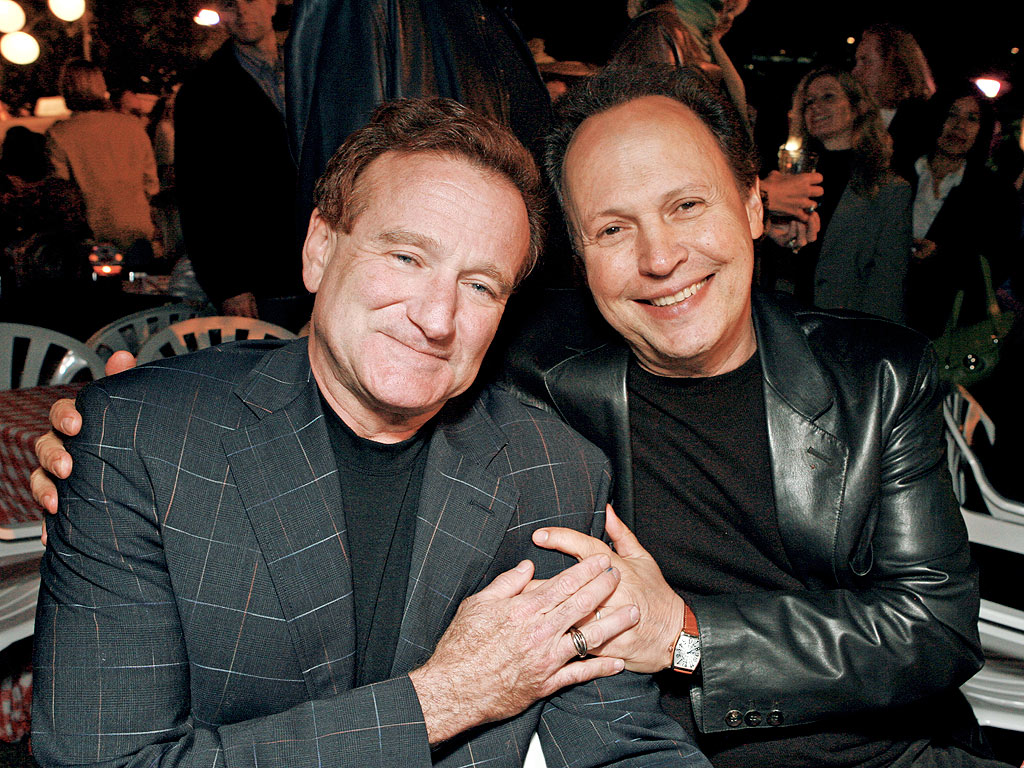 Robin Williams Family Robin williams and billy