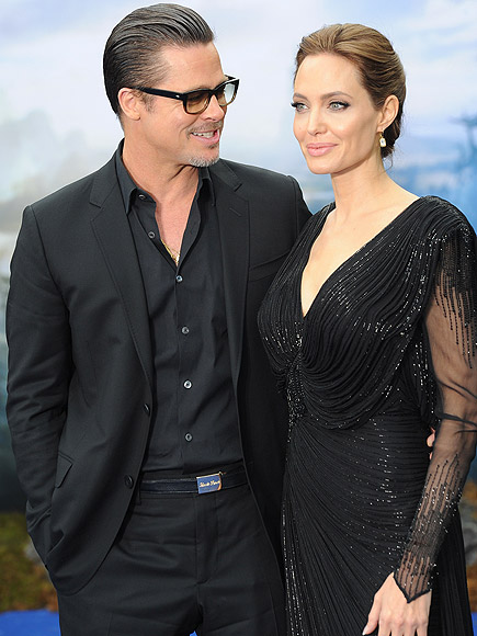 Brad Pitt, Angelina Jolie Married