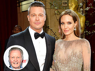 Jon Voight 'Very Happy' That Brad Pitt Is Officially His Son-in-Law