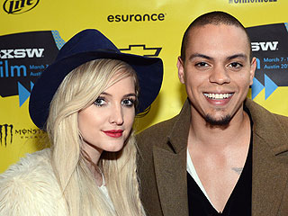 Cute Couple! Ashlee Simpson & Evan Ross Ring in His Birthday