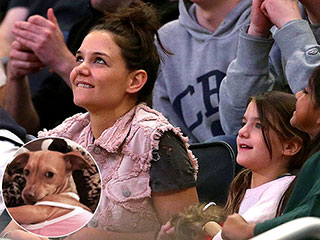 Suri Cruise Reunites with Lost Chihuahua | Katie Holmes, Suri Cruise