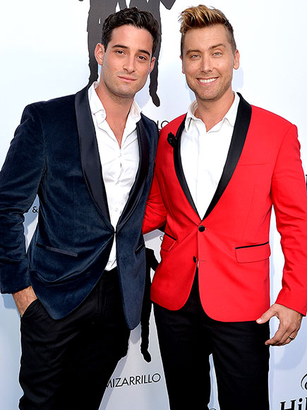 Lance Bass and Michael Turchin Set a Date