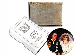 Sold! Cake Slice from Charles & Diana's 1981 Wedding Snapped Up at Auction