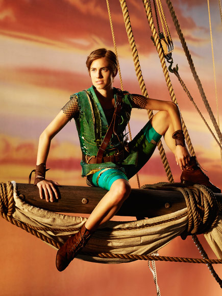 Allison Williams as Peter Pan – See the First Photo