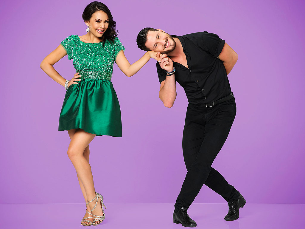Janel Parrish's DWTS Blog: Val Chmerkovskiy Keeps Me Calm and We Dance On