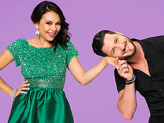 Janel Parrish's DWTS Blog: 'It's Really Nice to Be Back with Val'