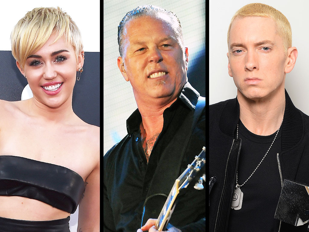 Guinness World Records: Miley Cyrus, Metallica, Eminem, Katy Perry