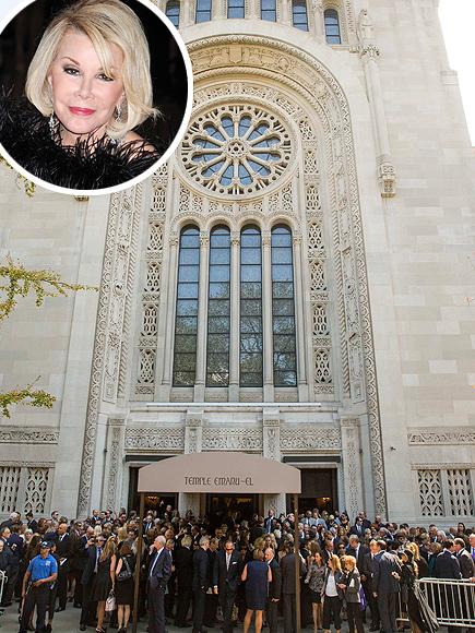 Joan Rivers Funeral: Friends Reflect
