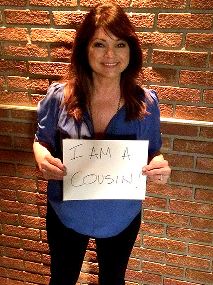 Author A.J. Jacobs Interviews His (Very Distant) Cousin Valerie Bertinelli