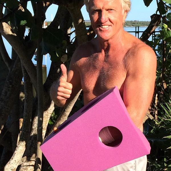 Greg Norman Survives Chainsaw Accident