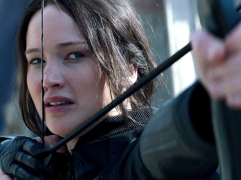 Watch the New Hunger Games: Mockingjay Part 1 Trailer
