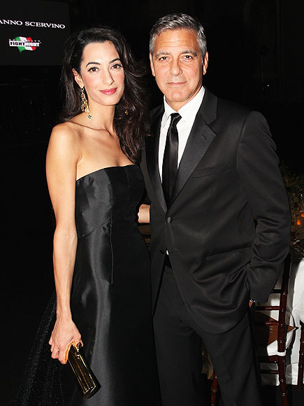 George Clooney Wedding: Star Marries Amal Alamuddin in Venice, Italy