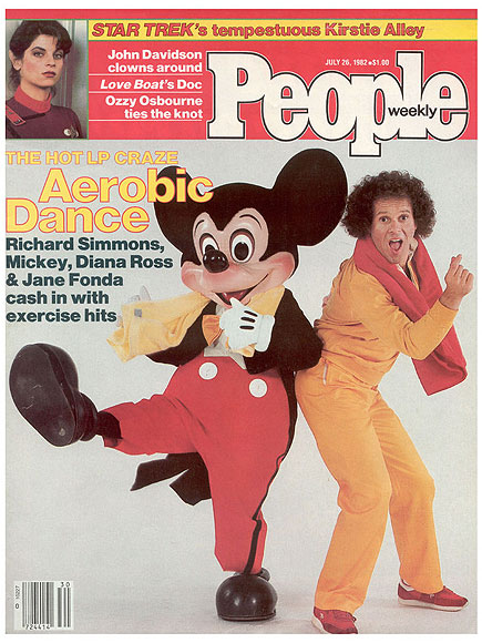 PEOPLE 40th Anniversary: Richard Simmons, Mickey Mouse, E.T.