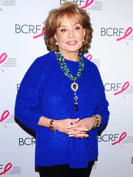 Barbara Walters Reveals Her Breast Cancer Scare