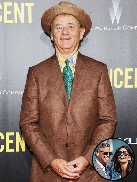 What Was Bill Murray's Favorite Part of George Clooney & Amal Alamuddin's Wedding?