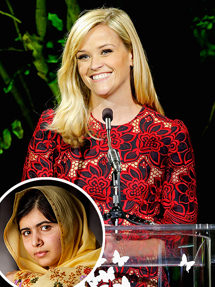 Reese Witherspoon Calls Malala Yousafzai Her Role Model