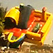 Children's Slide with a Kid Still Inside Blows Away in Brazil