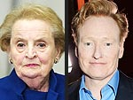 Madeleine Albright Burns Conan O'Brien in Hilarious Twitter War