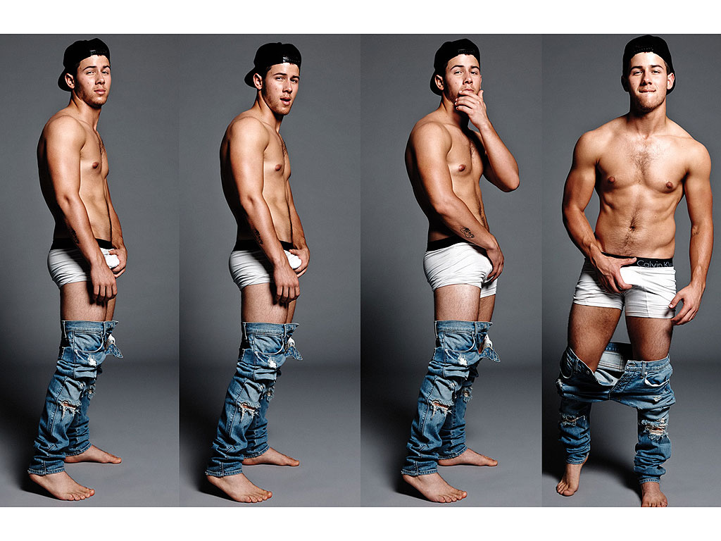 Nick Jonas Talks Underwear Photos, Sex Scenes