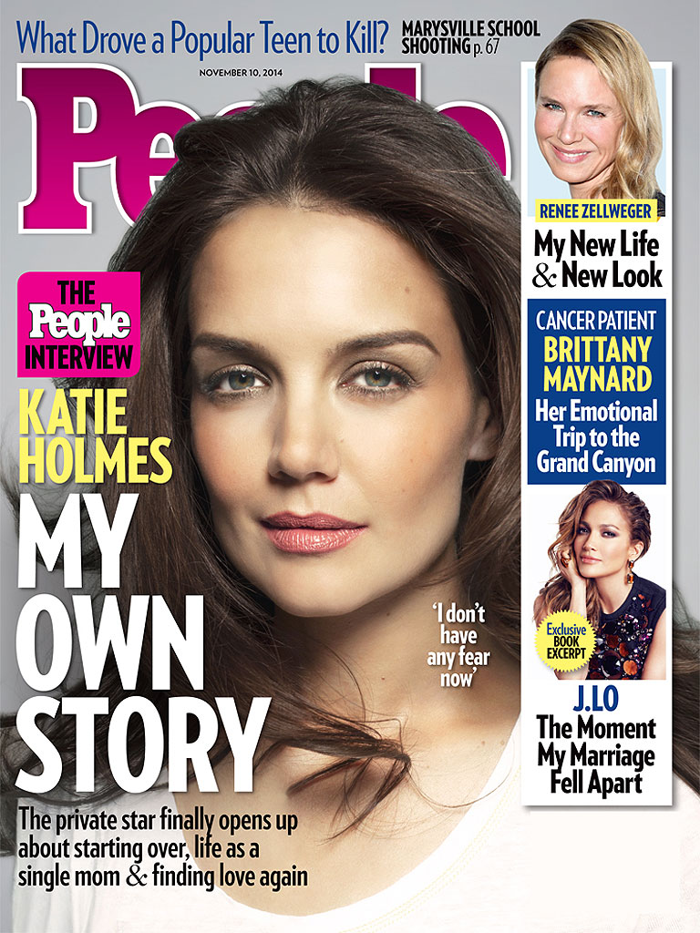 Katie Holmes Speaks Out: 'I Don't Have Any Fear Now'