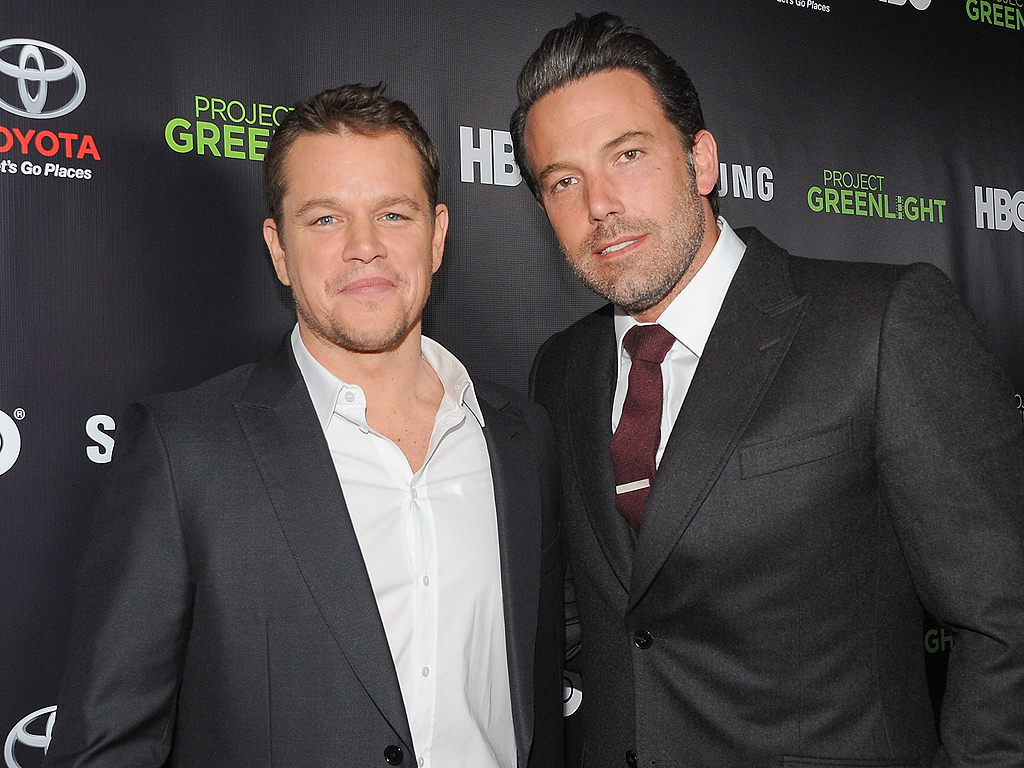 Ben Affleck and Matt Damon: 'We've great wives'