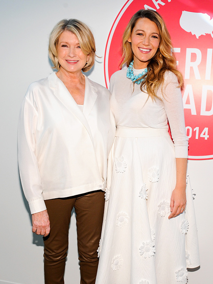 Blake Lively: 'Martha Stewart Is the Only Woman Who Can Creep Up on My Man'