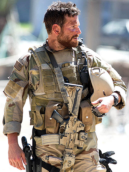 How Bradley Cooper Got Really Ripped to Play a Navy SEAL in American Sniper