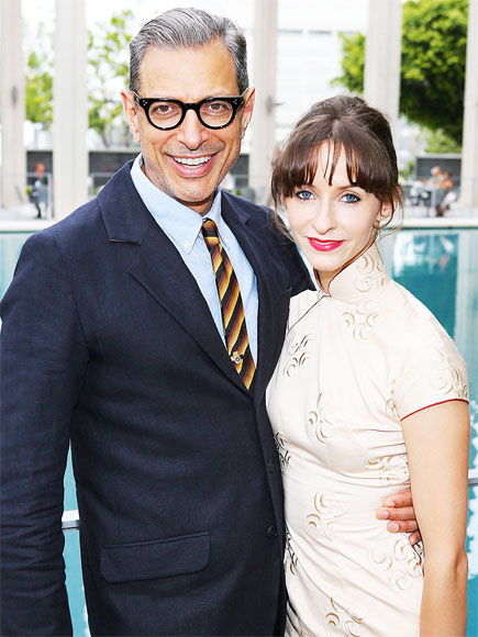Jeff Goldblum and Emilie Livingston Are Engaged