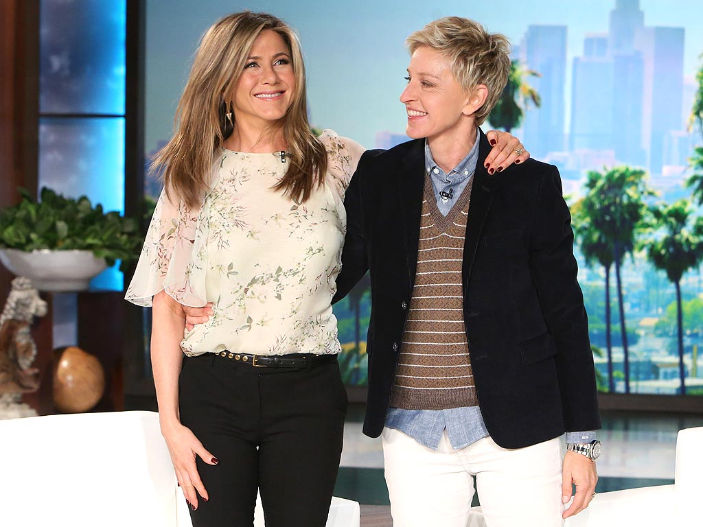 Photo of Ellen DeGeneres & her friend actress  Jennifer Antison - Teenage