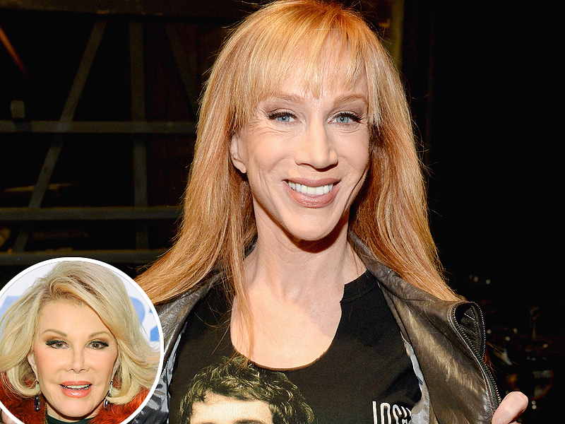 Kathy Griffin on Joining Fashion Police: Joan Rivers's Daughter Melissa Gave Her Blessing