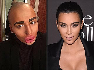 British Man Claims to Have Spent $150K+ to Look Like Kim Kardashian